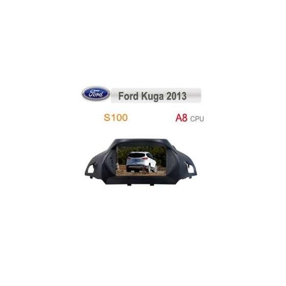 Navigatie Dedicata Ford Kuga 2013 DVD GPS Auto CARKIT TV NAVD-c362