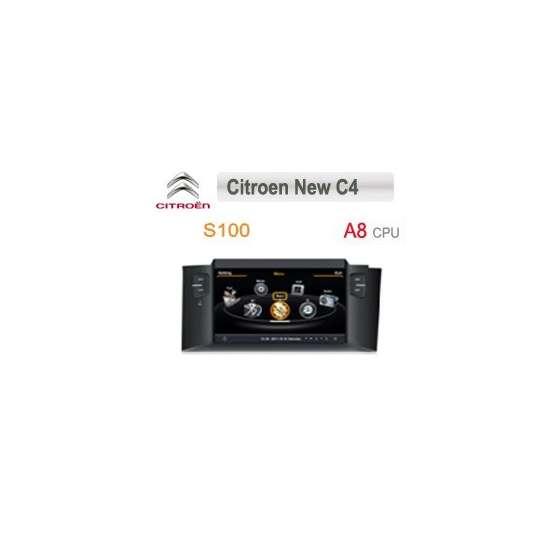 Navigatie Dedicata Citroen C4 2010 NAVD-c241 S100