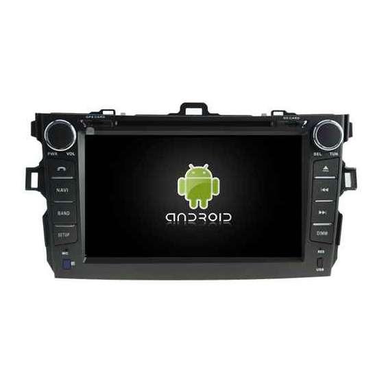 Navigatie Android Dedicata TOYOTA COROLLA DVD GPS AUTO CARKIT TV NAVD-A5749