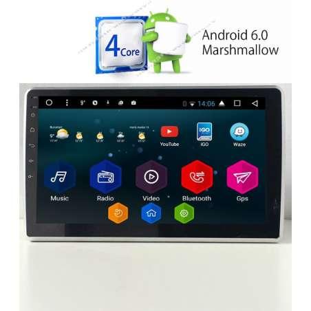 Dvd Navigatie Android 2DIN Universala Ecran 10.1 Inch Detasabil USB INTERNET NAVD-E1011