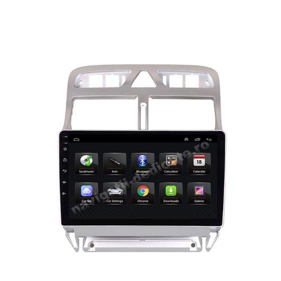 Navigatie Android 8.1 Peugeot 307 Ecran 9 inch IPS Led NAVD-E9053