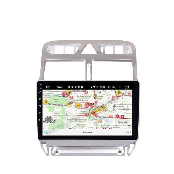 Navigatie Android Peugeot 307 2GB Ram Ecran 9 inch NAVD-AC9053