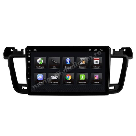 Navigatie Android 8.1 Peugeot 508 Ecran 9 inch IPS Led NAVD-E9061