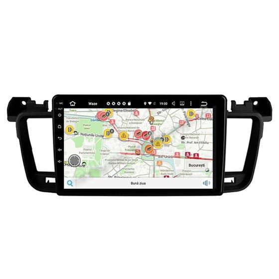 Navigatie Android Peugeot 508 2GB Ram Ecran 9 inch NAVD-AC9061