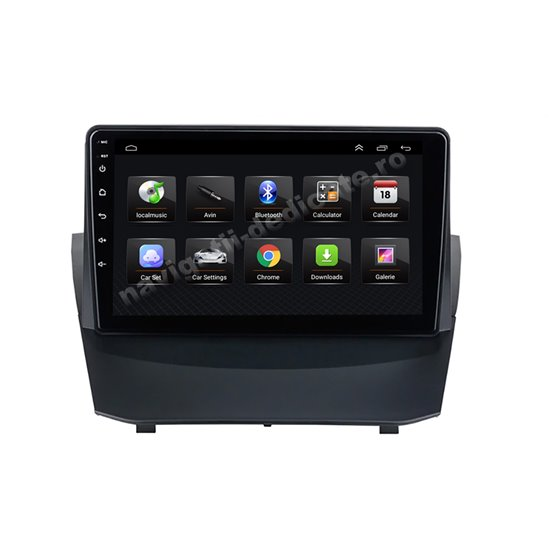 Navigatie Android 8.1 Ford Fiesta 2009-2014 Ecran 9 inch IPS Led NAVD-E9042
