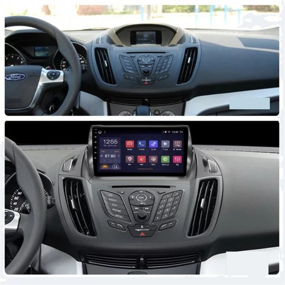Navigatie Android 8.1 Ford Kuga 2013+ Ecran 9 inch IPS Led NAVD-E9040