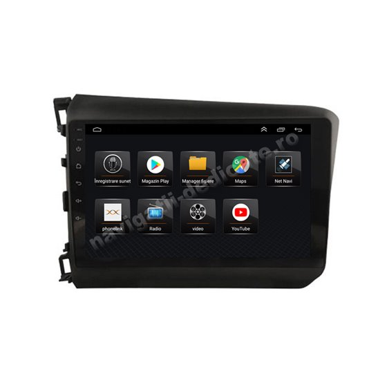 Navigatie Android 8.1 Honda Civic 2012-2015 Ecran 9 inch IPS Led NAVD-E9039