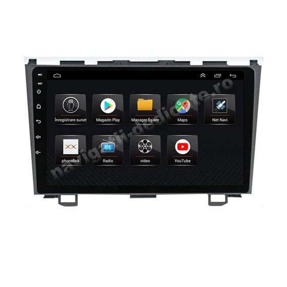 Navigatie Android 8.1 Honda CRV 2007-2011 Ecran 9 inch IPS Led NAVD-E9037
