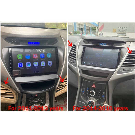 Navigatie Android 8.1 Hyundai Elantra 2011-2013 Ecran 9 inch IPS Led NAVD-E9036