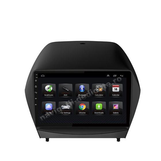 Navigatie Android 8.1 Hyundai IX35 2009-2015 Ecran 9 inch IPS Led NAVD-E9032