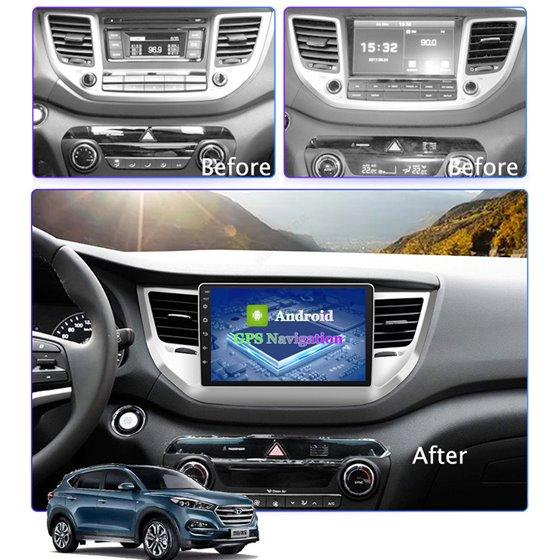 Navigatie Android 8.1 Hyundai Tucson 2014-2018 Ecran 9 inch IPS Led NAVD-E9031