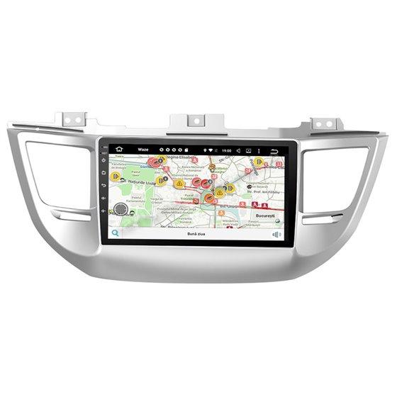 Navigatie Android Hyundai Tucson 2014-2018 2GB Ram Ecran 9 inch NAVD-AC9031