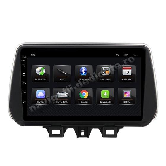 Navigatie Android 8.1 Hyundai Tucson 2018 Ecran 9 inch IPS Led NAVD-E9030
