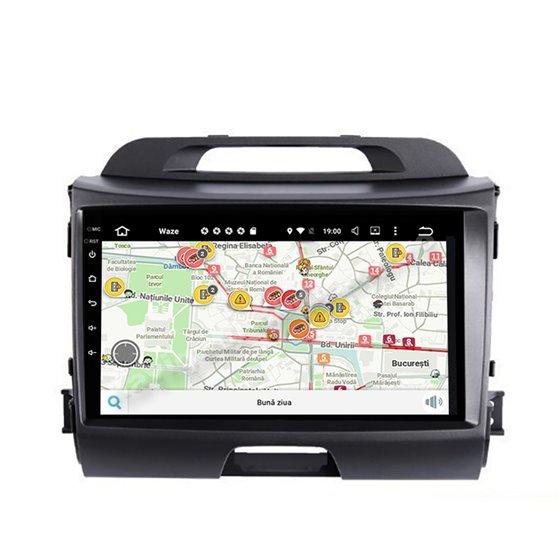 Navigatie Android Kia Sportage 2010-2016 2GB Ram Ecran 9 inch NAVD-AC9027