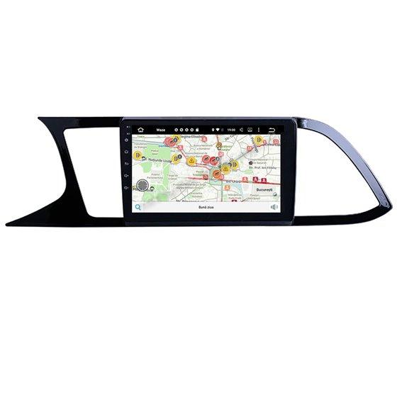 Navigatie Android Seat Leon 2014-2020 2GB Ram Ecran 9 inch NAVD-AC9026