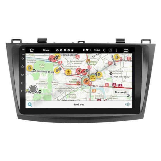 Navigatie Android MAZDA 3 2010-2013 2GB Ram Ecran 9 inch NAVD-AC9025