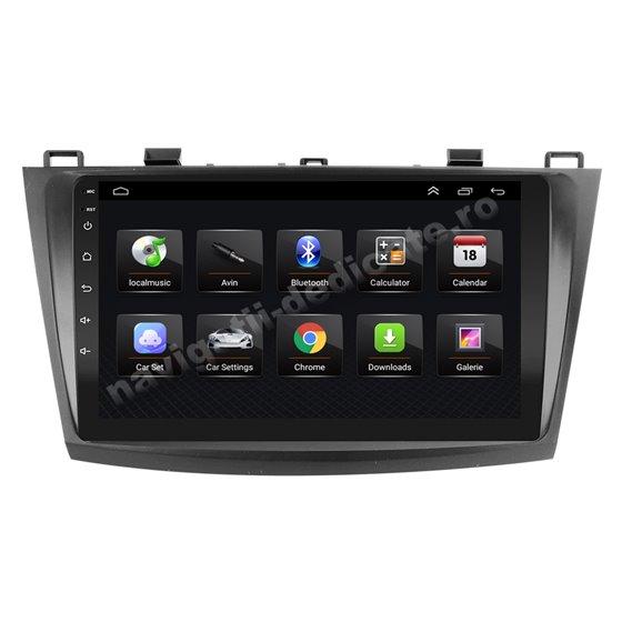 Navigatie Android 8.1 MAZDA 3 2010-2013 Ecran 9 inch IPS Led NAVD-E9025