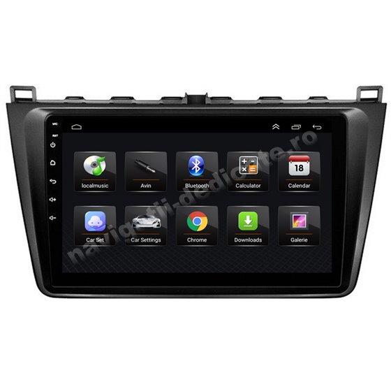 Navigatie Android 8.1 MAZDA 6 2008-2013 Ecran 9 inch IPS Led NAVD-E9024
