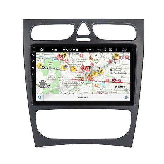 Navigatie Android Mercedes BENZ C W203 2000-2005 2GB Ram Ecran 9 inch NAVD-AC9019
