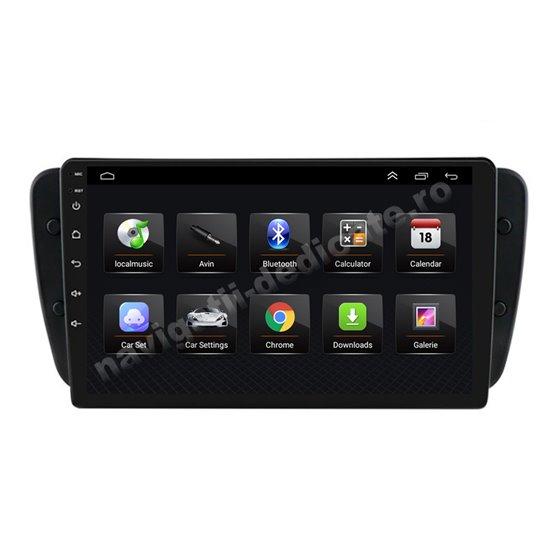 Navigatie Android 8.1 Seat Ibiza 2009-2014 Ecran 9 inch IPS Led NAVD-E9092