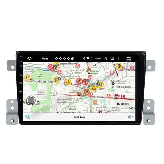 Navigatie Android Suzuki Grand Vitara 2005-2015 2GB Ram Ecran 9 inch NAVD-AC9011