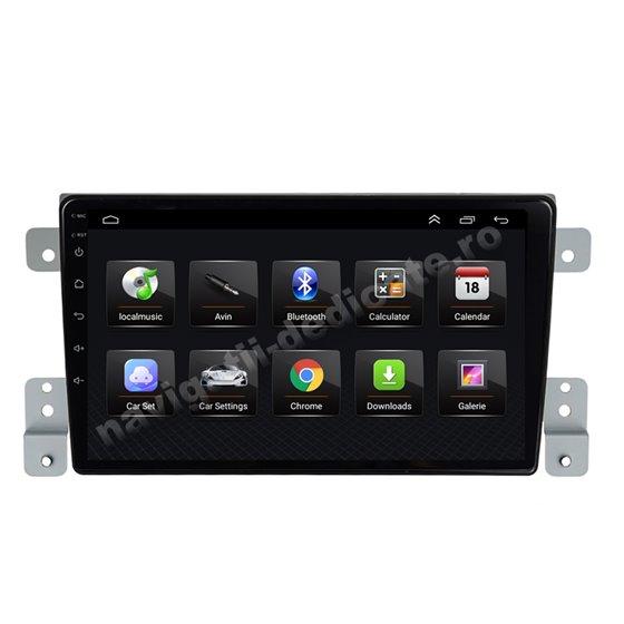 Navigatie Android 8.1 Suzuki Grand Vitara 2005-2015 Ecran 9 inch IPS Led NAVD-E9011