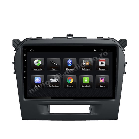 Navigatie Android 8.1 Suzuki Vitara 2015 Ecran 9 inch IPS Led NAVD-E9010