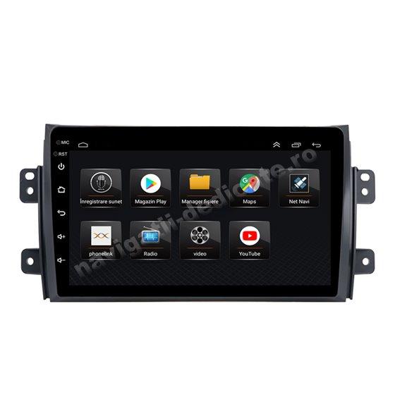 Navigatie Android 8.1 Suzuki SX4 Ecran 9 inch IPS Led NAVD-E9009