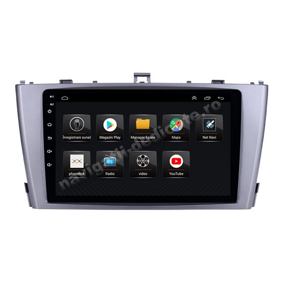 Navigatie Android 8.1 Toyota Avensis 2009-2015 Ecran 9 inch IPS Led NAVD-E9008