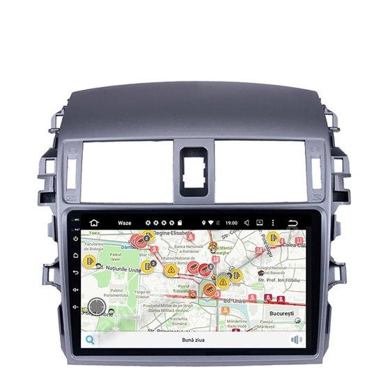 Navigatie Android Toyota Corolla 2008-2013 2GB Ram Ecran 9 inch NAVD-AC9007