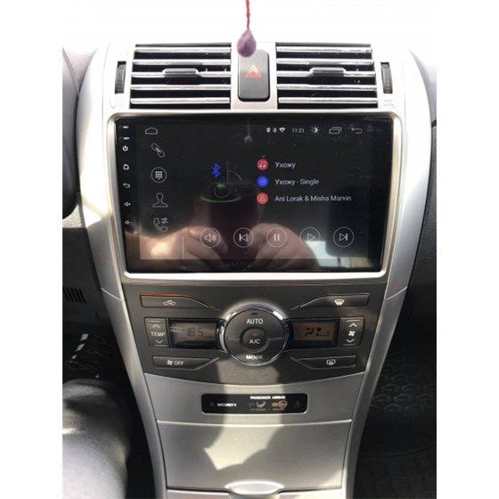 Navigatie Android 8.1 Toyota Corolla 2008-2013 Ecran 9 inch IPS Led NAVD-E9007