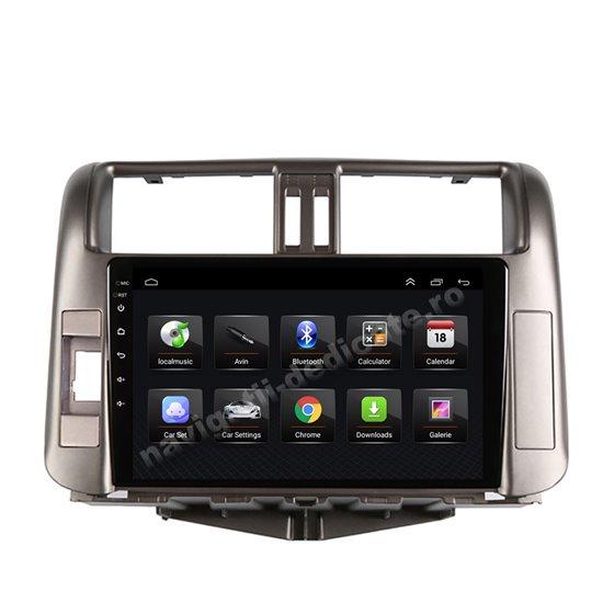 Navigatie Android 8.1 Toyota Prado 2010-2013 Ecran 9 inch IPS Led NAVD-E9005