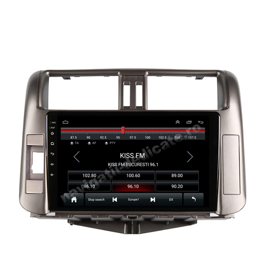 Navigatie Android Toyota Prado 2010-2013 2GB Ram Ecran 9 inch NAVD-AC9005