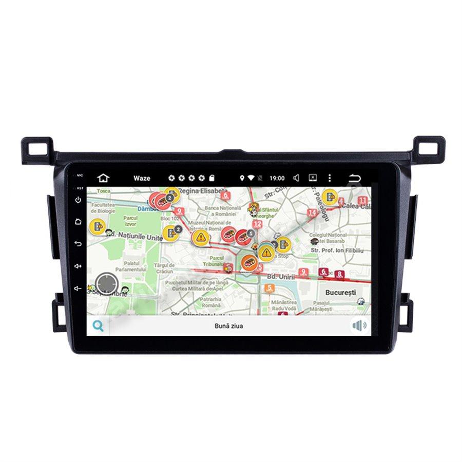 Navigatie Android Toyota RAV 4 2013-2018 2GB Ram Ecran 9 inch NAVD-AC9004