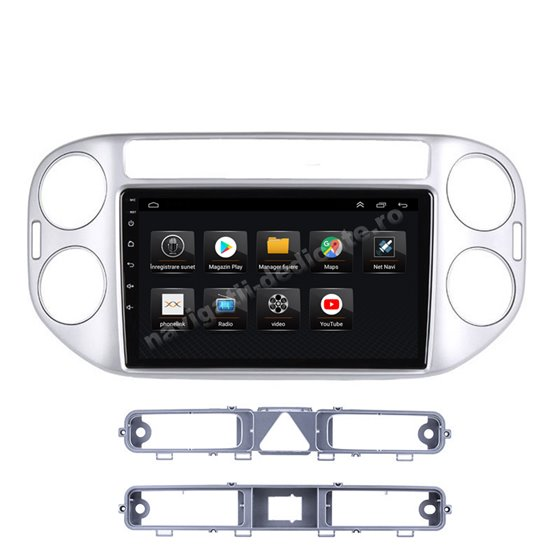 Navigatie Android VW Tiguan 2010 - 2016 2GB Ram Ecran 9 inch NAVD-AC9002