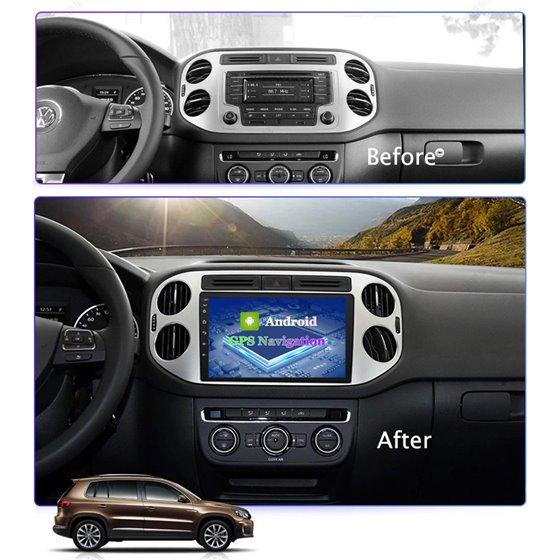 Navigatie Android 8.1 VW Tiguan 2010 - 2016 Ecran 9 inch IPS Led NAVD-E9002