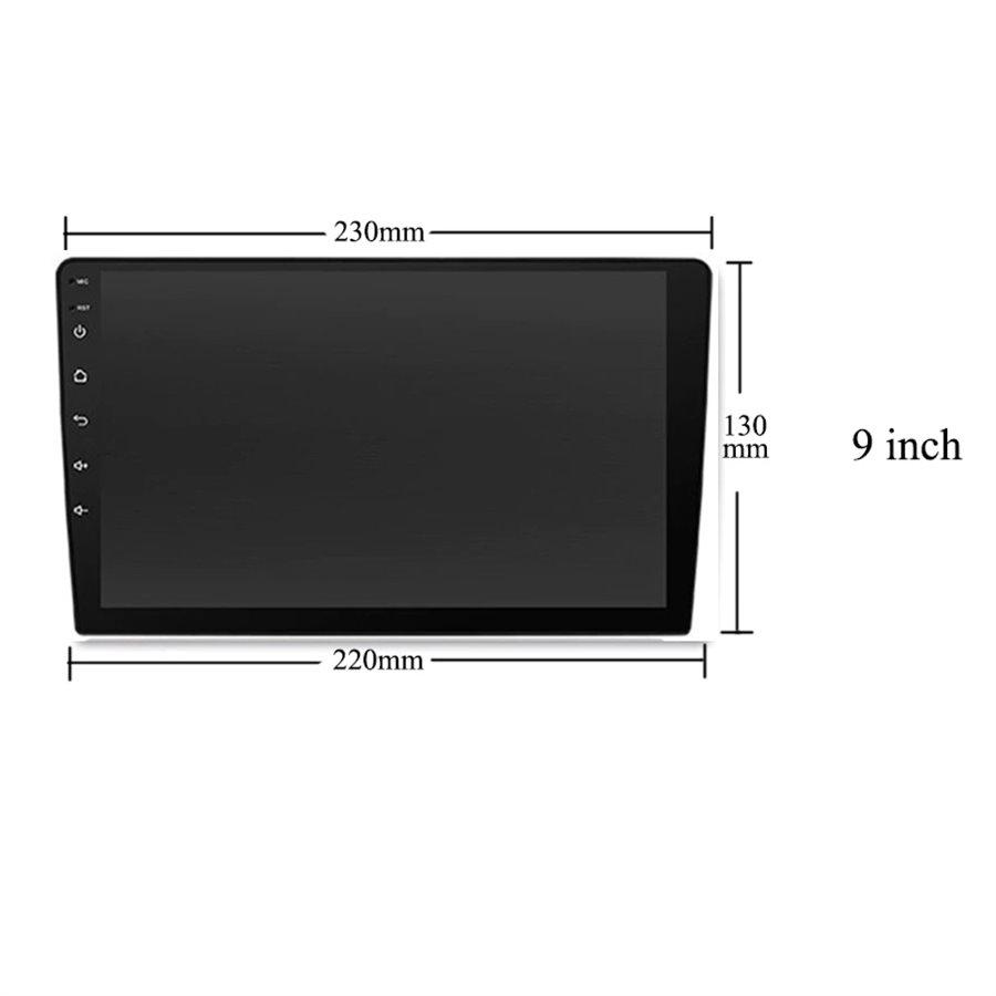 Navigatie Android Vw Touareg 2011-2017 2GB Ram Ecran 9 inch NAVD-AC9001
