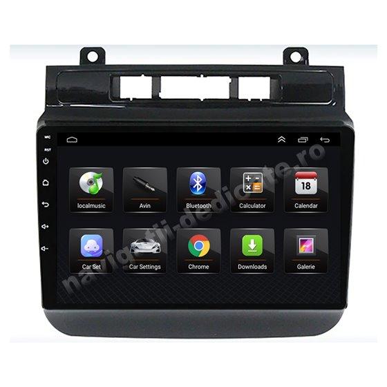 Navigatie Android 8.1 Vw Touareg 2011+ Ecran 9 inch IPS Led NAVD-E9001