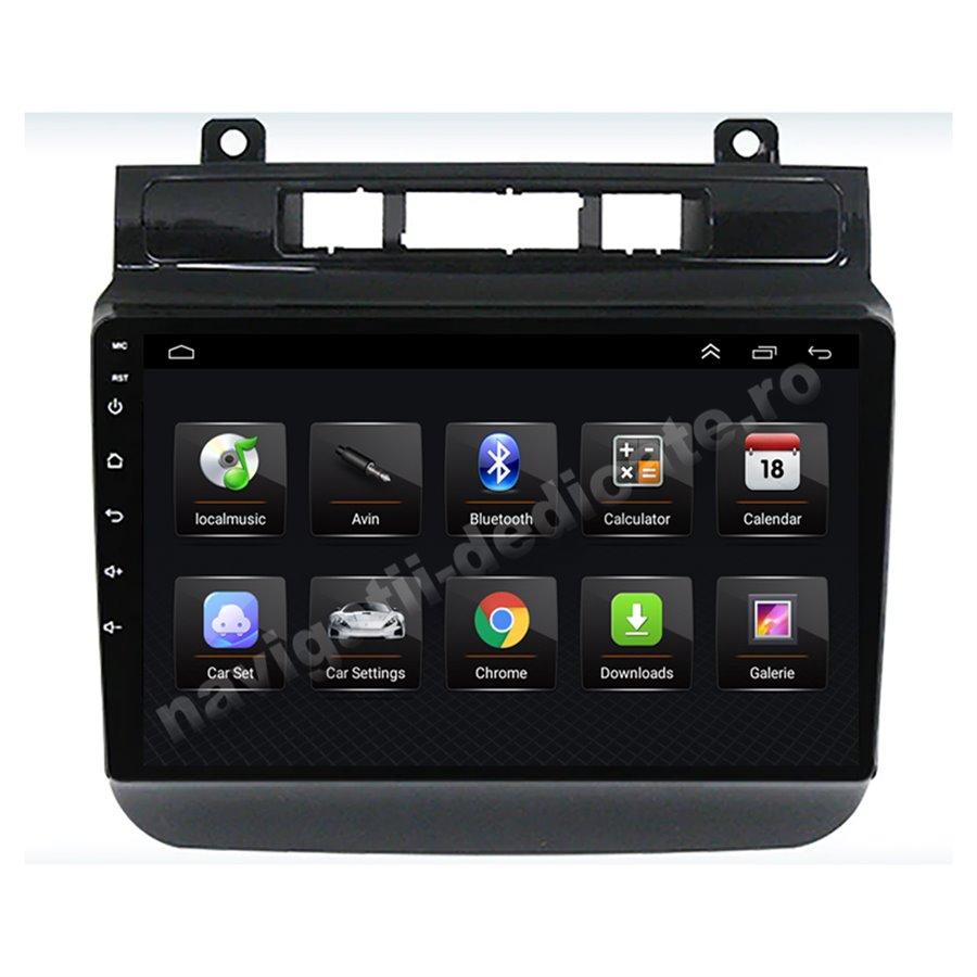 Navigatie Android Vw Touareg 2011+ 2GB Ram Ecran 9 inch NAVD-AC9001