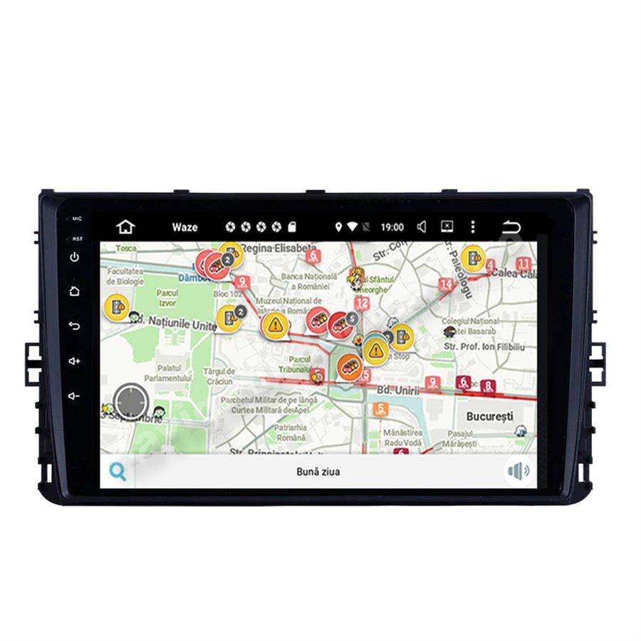 Navigatie Android VW Passat B8 Golf VII Polo Tiguan 2018 2GB Ram Ecran 9 inch NAVD-AC99210
