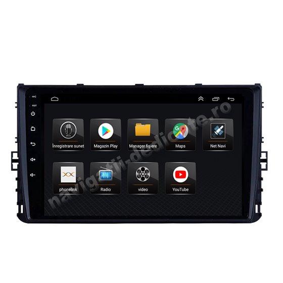 Navigatie Android 8.1 VW Passat B8 Golf VII Polo Tiguan 2018 Ecran 9 inch IPS Led NAVD-E99210