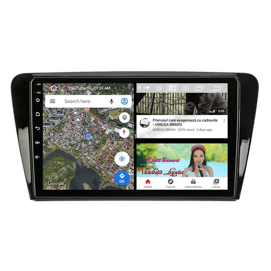 Navigatie Android Skoda Rapid Seat Toledo Octa Core 4GB Ram Ecran 9 inch NAVD-Z8077