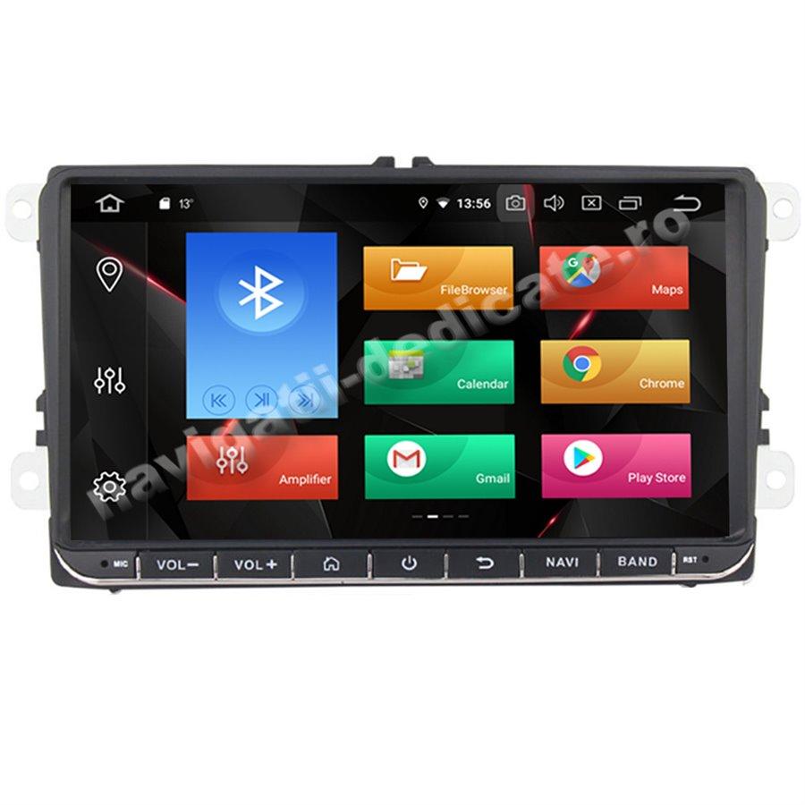 Navigatie Carplay Android 10 Volkswagen Skoda Seat Octa Core 6GB Ram 128 GB SSD Ecran 9 inch NAVD-US9800