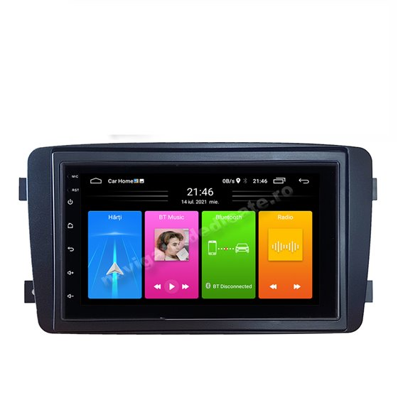 Carpad Navigatie Android MERCEDES BENZ C CLASS W203 2000-2004 NAVD-E902MB