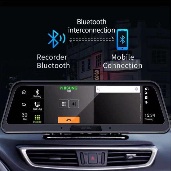 Monitor Bord Android Navigatie Dvr Carkit Camera Marsarier NAVD-B100