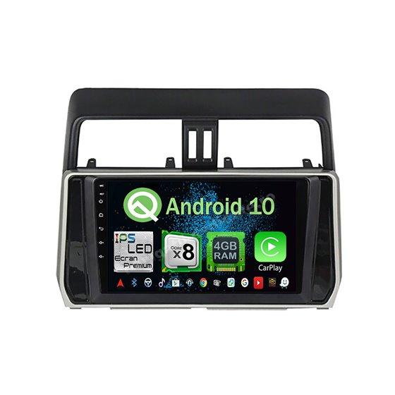 Navigatie Android 10 Toyota Land Cruiser Prado J150 2018 Octa Core 4GB Ram Ecran 9 inch Ips NAVD-Z8059