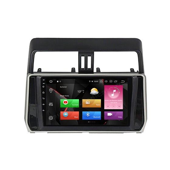 Navigatie Carplay Android 10 Toyota Land Cruiser Prado J150 2018+ Octa Core 6GB Ram 128GB SSD Ecran 9 inch Ips NAVD-US91060