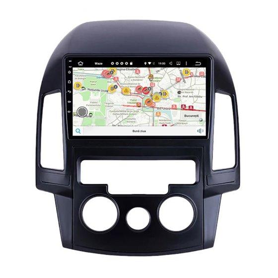 Navigatie Android Hyundai I30 2009-2012 Clima Manuala Octa Core 4GB Ram Ecran 9 inch NAVD-Z80i30AC