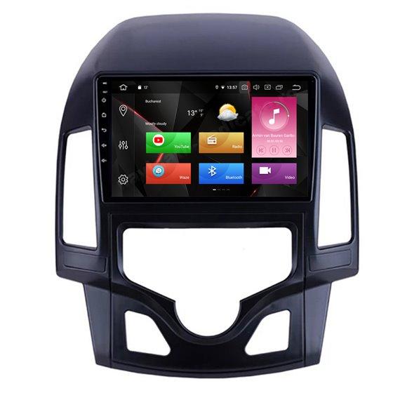 Navigatie Android Hyundai I30 2009-2012 Clima Automata Octa Core 4GB Ram Ecran 9 inch NAVD-Z80i30