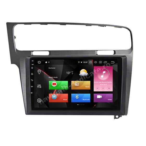 Navigatie Carplay Android 10 GOLF 7 Gri Octa Core 6GB Ram 128GB SSD Ecran 9 inch NAVD-US91028G